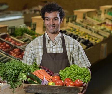 Employé de vente spécialisé produits alimentaires